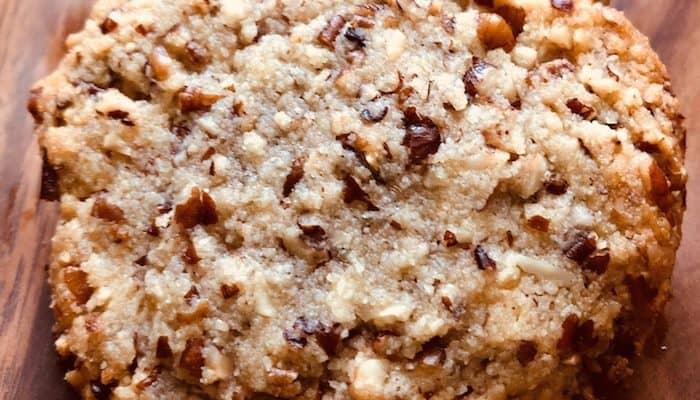Keto Pecan Shortbread Cookies | Keto Cookie Recipes