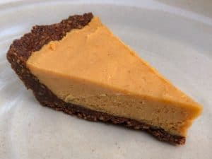 keto peanut butter pie with Swerve Sweetener