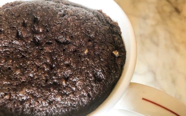Easy Keto Brownie Mug Cake Recipe | Ready In 5 Minutes
