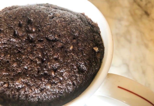 Easy Keto Brownie Mug Cake Recipe | Ready In 5 Minutes