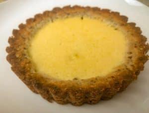 mini keto lemon tart recipe