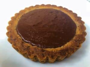 mini keto chocolate tart