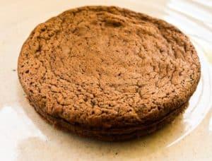 keto mini fallen chocolate cake