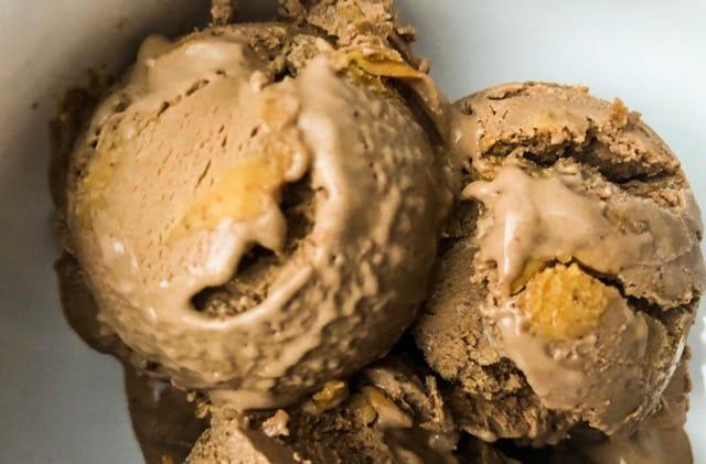 Keto Peanut Butter Chocolate Ice Cream Recipe | Keto Dessert Recipes