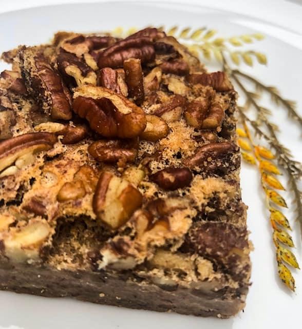 Amazing Keto Pecan Pie Squares | Keto Dessert Recipes