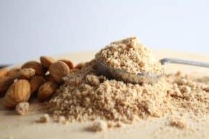 carbs in garbanzo bean flour