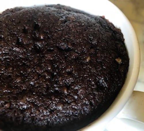 Flour Free Keto Chocolate Collagen Mug Cake   Keto Dessert Recipes